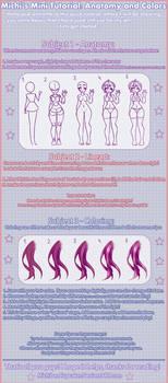Michi's Mini Tutorial: Anatomy and Colors