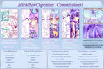 Commission info sheet - CLOSED by Miichau