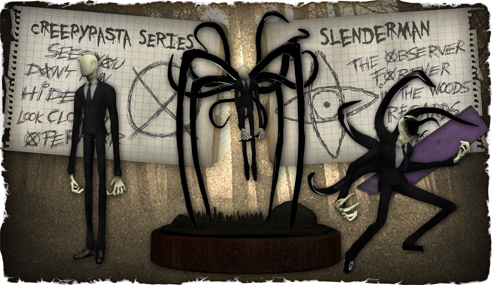 Creepypasta Series 5: Slenderman by dimelotu
