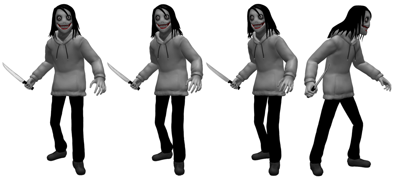 Jeff The Killer Resource/Stock by dimelotu