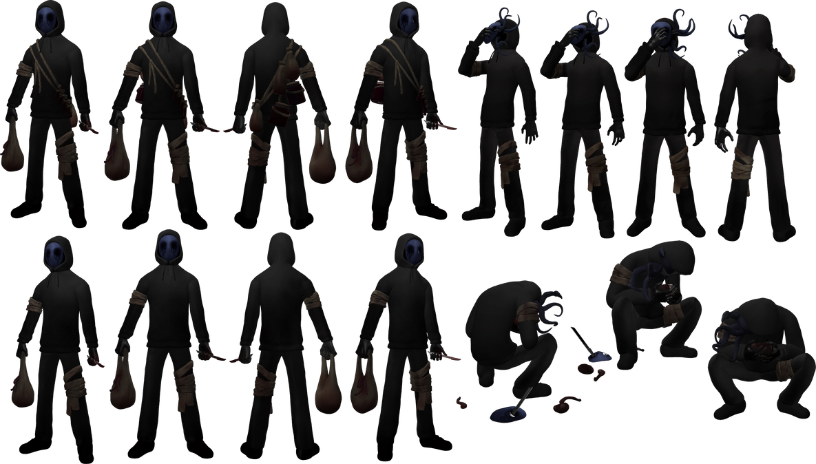 Eyeless Jack Resource/Stock by dimelotu