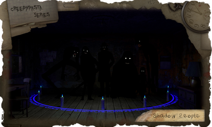 C.S. 18: Shadow People (Dark Version) by dimelotu