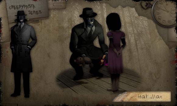 Creepypasta Series Addendum: The Hat Man 1 by dimelotu