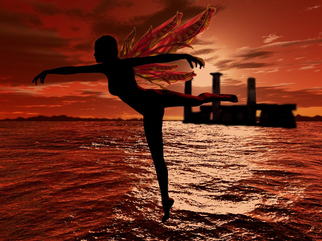 Dance as the Sun rises by DameOdessa