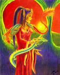The Dragon Queen - collab