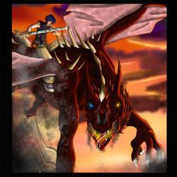 Max, the dragon rider
