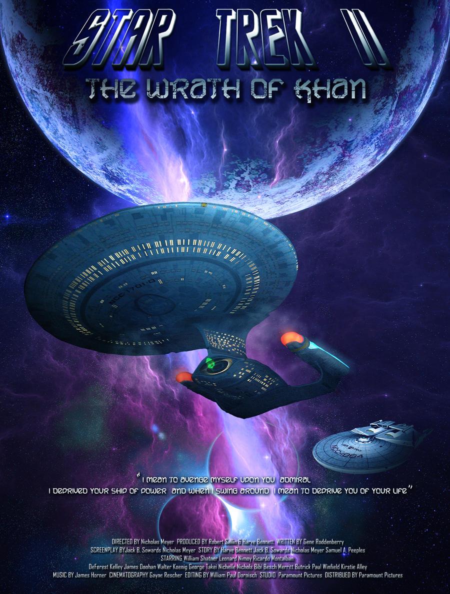 Star Trek II The Wrath of Khan by DameOdessa