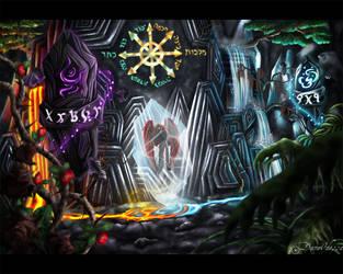 Chaos' Shrine by DameOdessa