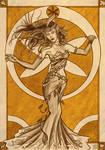 Art Nouveau et Stylo Bille