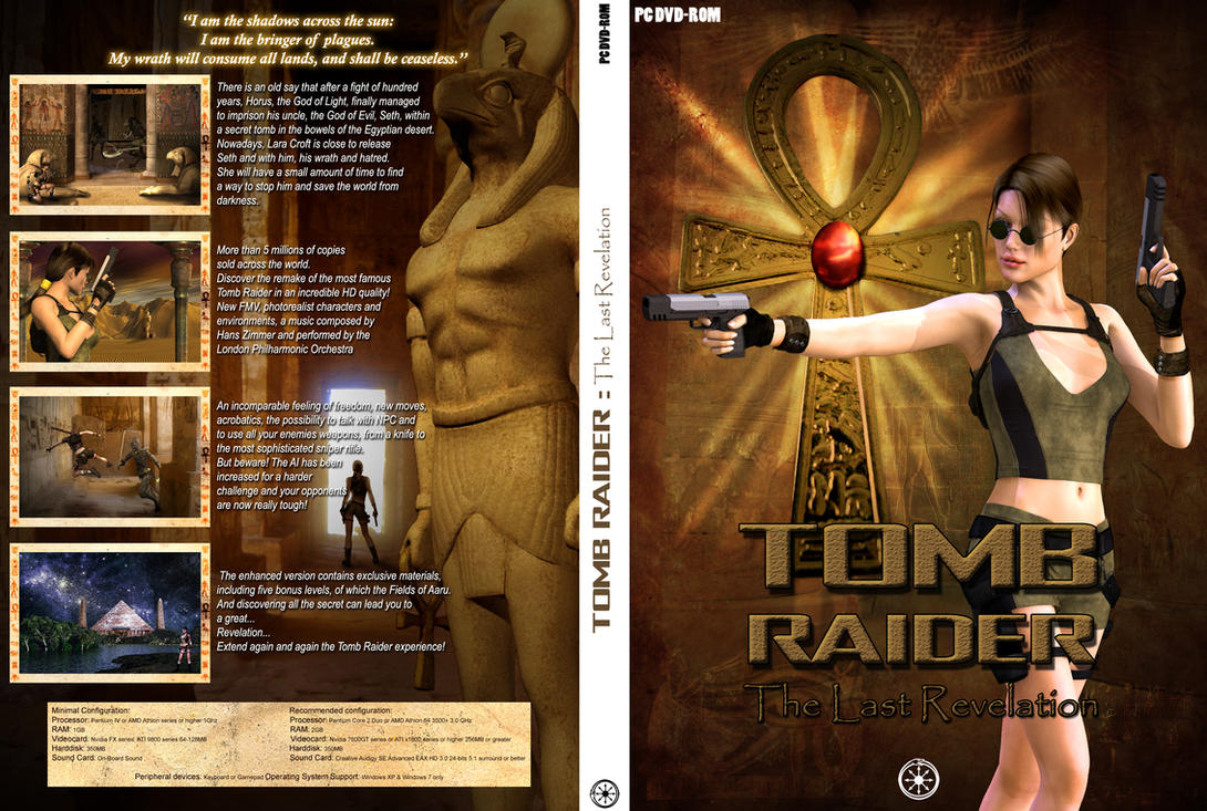 Tomb Raider : The Last Revelation by DameOdessa