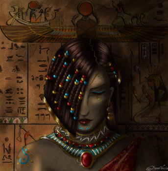 Lady of sands by DameOdessa