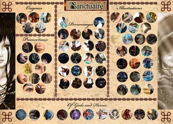 Sanctuaire: Exclusive Artworks Preview by DameOdessa