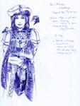 Pen and marker challenge: Daniel by DameOdessa