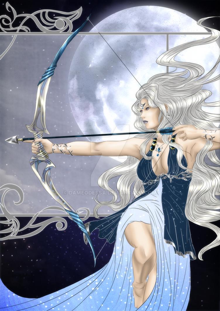 The Silver Maiden by DameOdessa