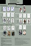 Dameodessa's Commissions chart