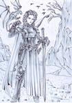 Day 6 Sword by DameOdessa