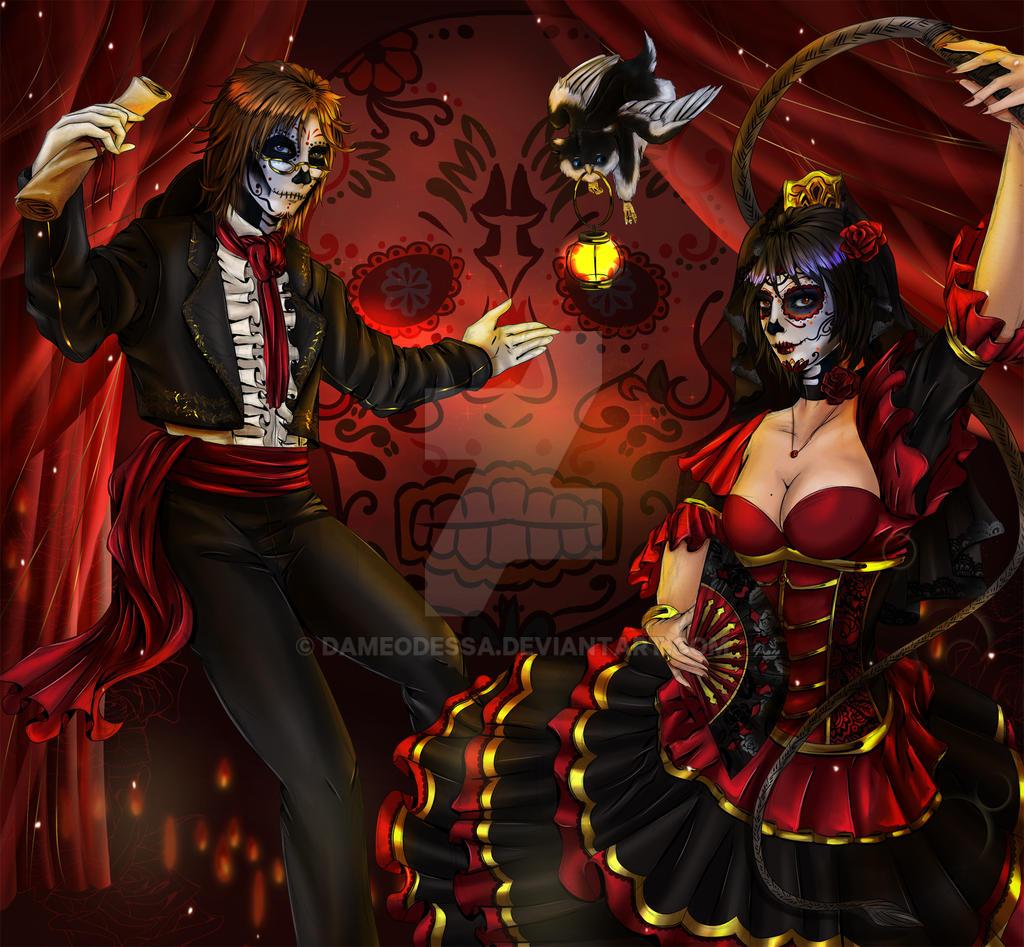 Dia de los Muertos by DameOdessa