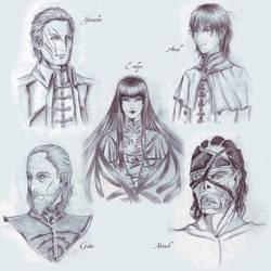 Broken Dream: some characters
