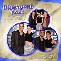 Photopack 3699- Divergent Cast by southsidepngs
