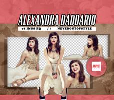 Png Pack 1914 - Alexandra Daddario