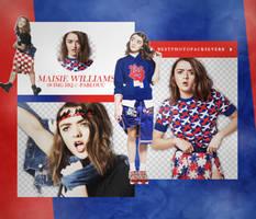 Pack Png 2364 - Maisie Williams. by southsidepngs
