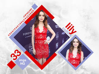 Photopack 29634 - Lily Collins by southsidepngs