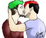 Septiplier kiss