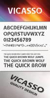 Vicasso Font - Elegant Display Font