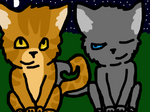 Lionblaze And Cinderheart.