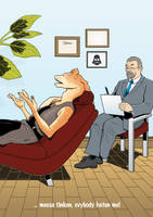 Jar Jar Binks in Therapy by CarstenOdenthal
