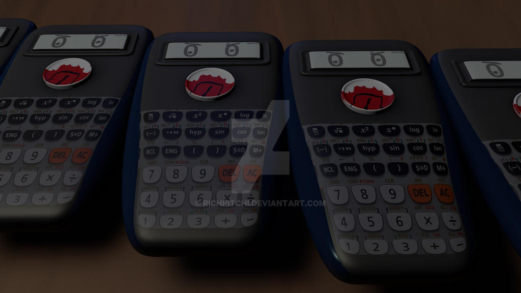 Calculator Monster by richpitchi