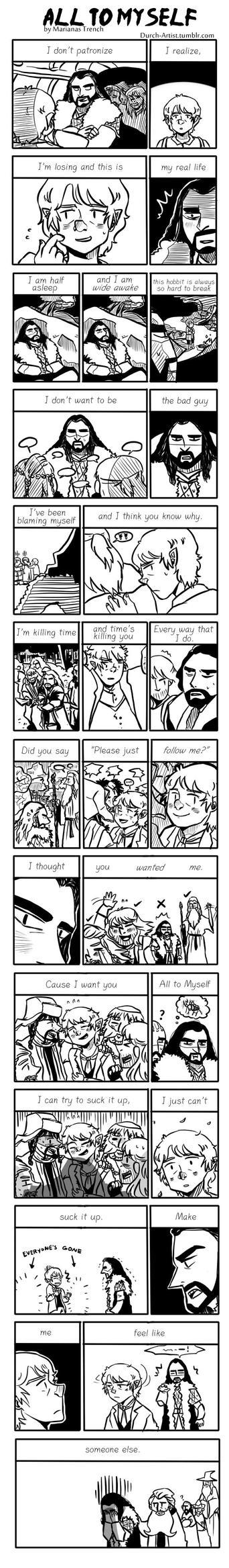 Hobbit: All To Myself by Durch-Leiden-Freude