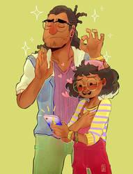Dream Daddy: Sella Family