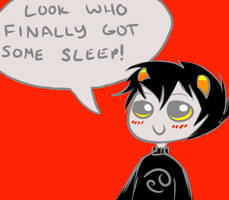 No more tired Karkat by saevuswinds