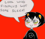 No more tired Karkat