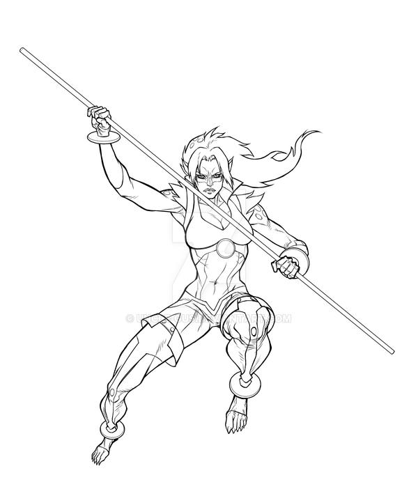 cheetara thundercats coloring pages - photo#26
