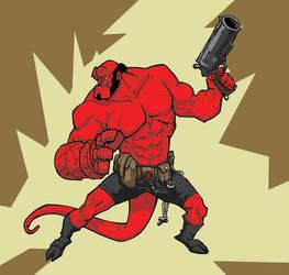 Hellboy by Uncle-Gus