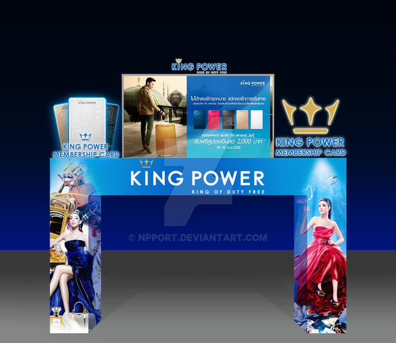 KingPower booth mockup by npport on DeviantArt
