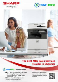 SHARP Myanmar Ad01