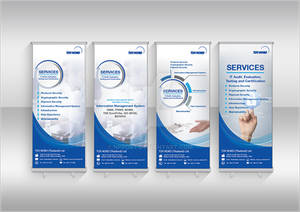Service Roll up banner