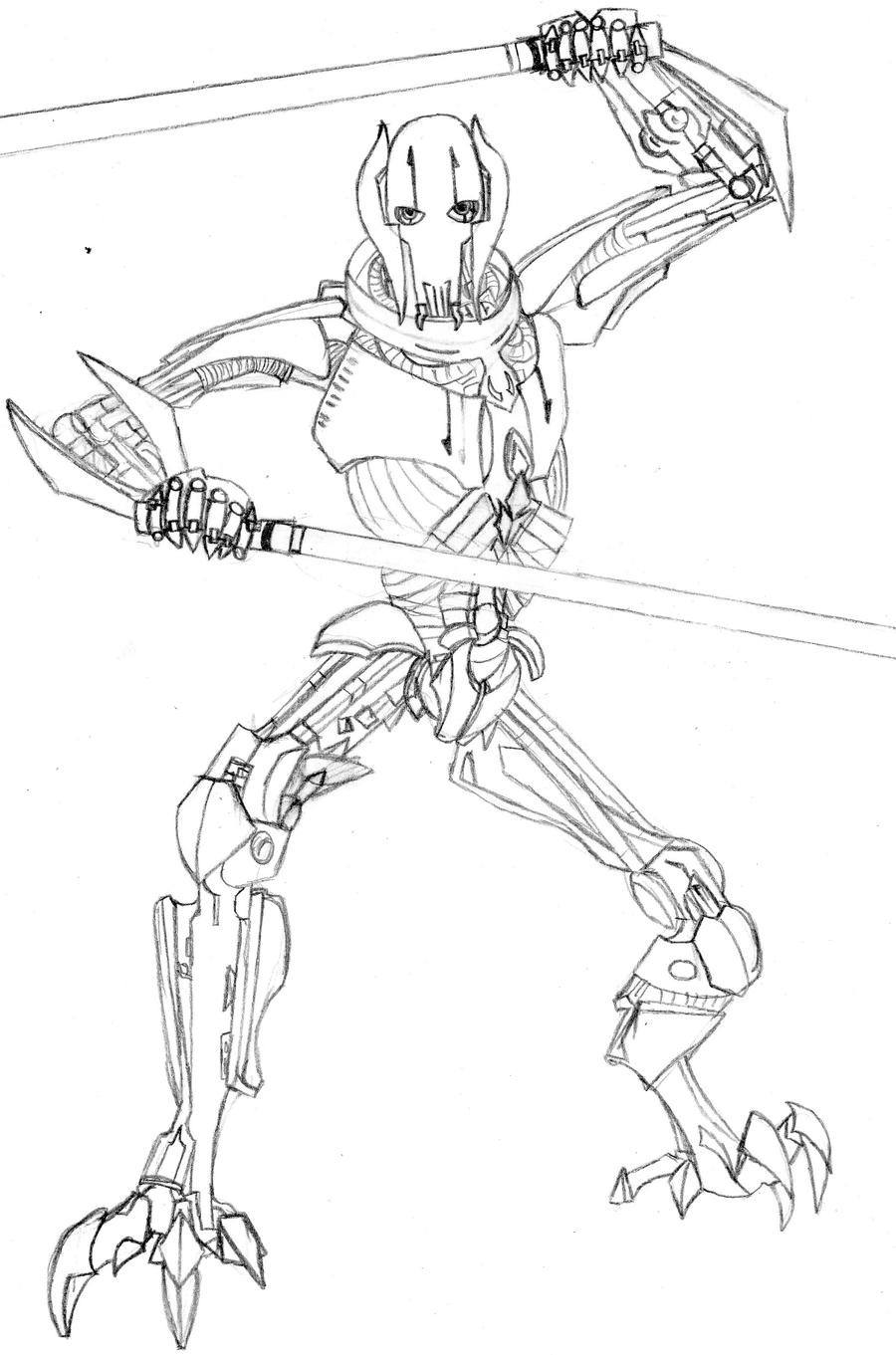 General Grievous by Loopy-Lass