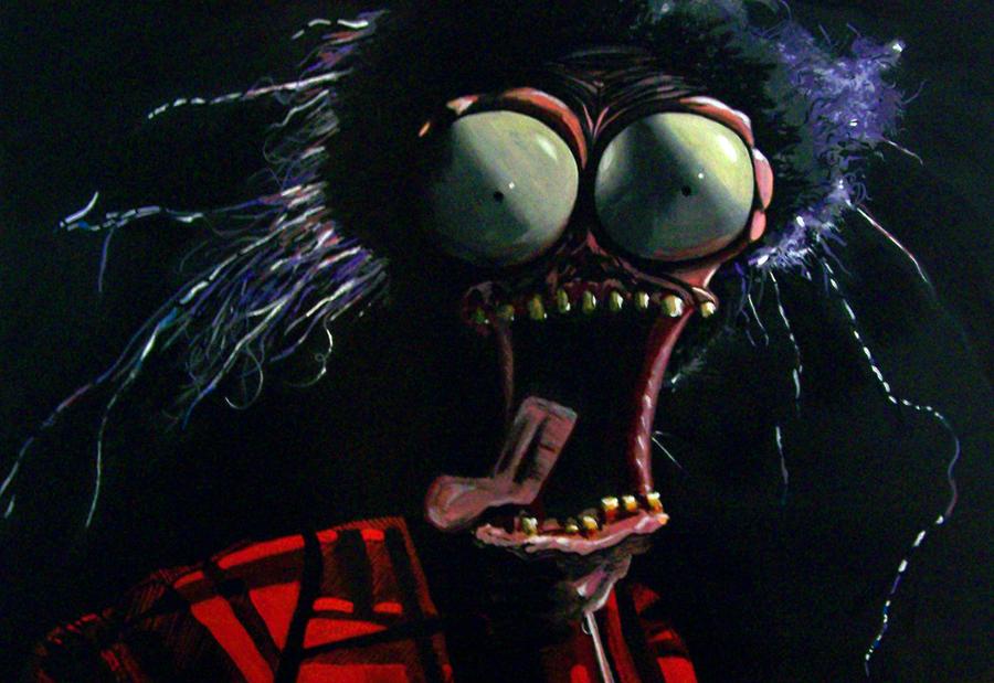 """Pee Wee """"Large Marge"""" Painting by KaptainMyke"""