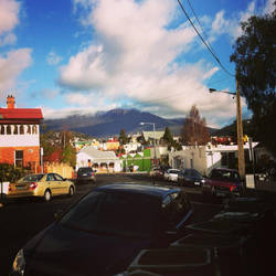 Mt Wellington by Lozjoy