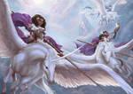 Sky Goddesses