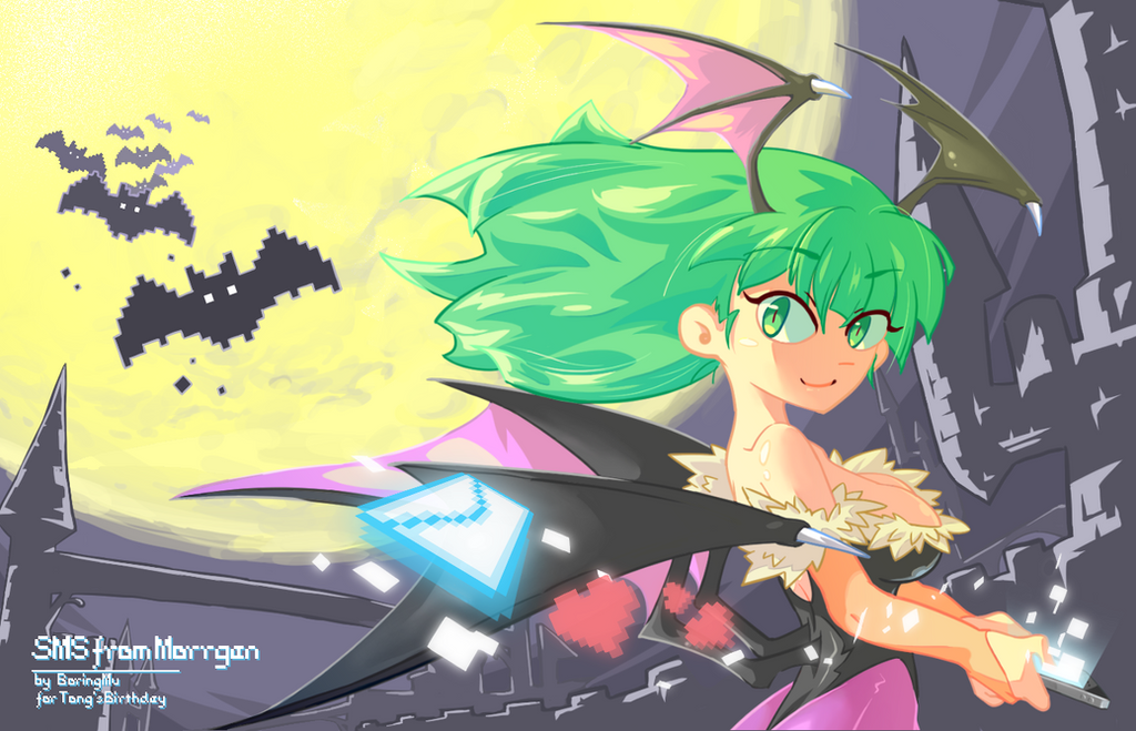 SMS from Morrigan by o0-MU-0o