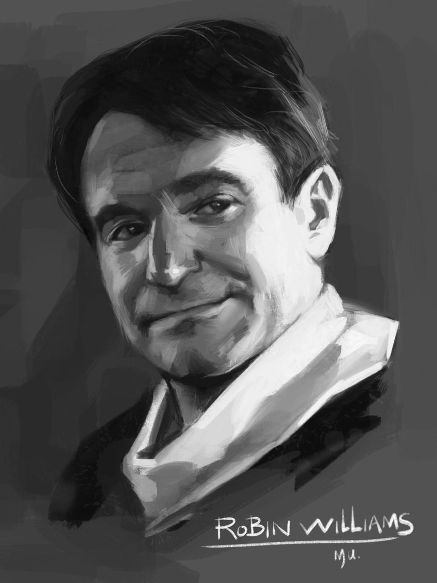 Robin Williams by o0-MU-0o