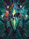 Cyber sisters - KLK by CatLowTheMU