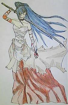Yumiko Tachikawa the Samurai