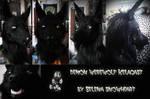 Demon werewolf mask
