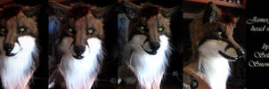 Animatronic Fox mask by SnowVolkolak